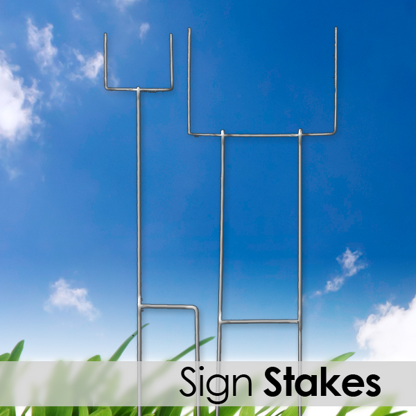 real estate sign stakes